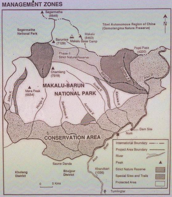 Map - MakaluBarun National Park